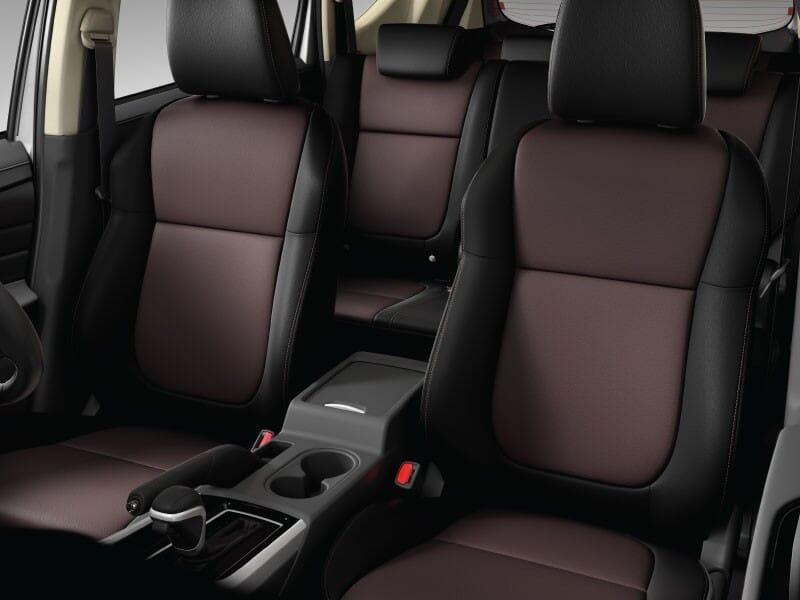 Dual Tone Leather Seat
